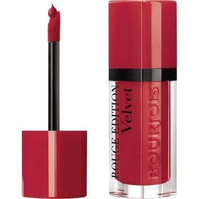 BOURJOIS Rouge Edit Velvet Matowa Pomadka W Płynie 18 It's Redding Men 6,7 ml