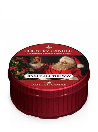 COUNTRY CANDLE Daylight Jingle All The Way