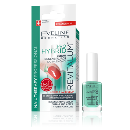 EVELINE Serum Regenerujące Do Paznokci Pro Hybrid 12 ml