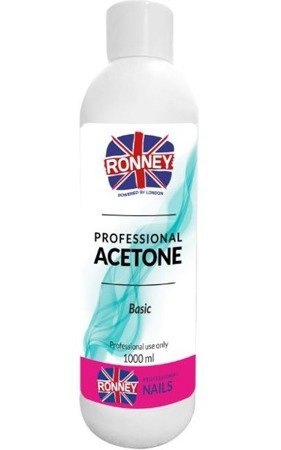 RONNEY - Aceton Bezzapachowy ACETONE BASIC 1000 ml